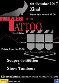 Mini-Tattoo Anniviers